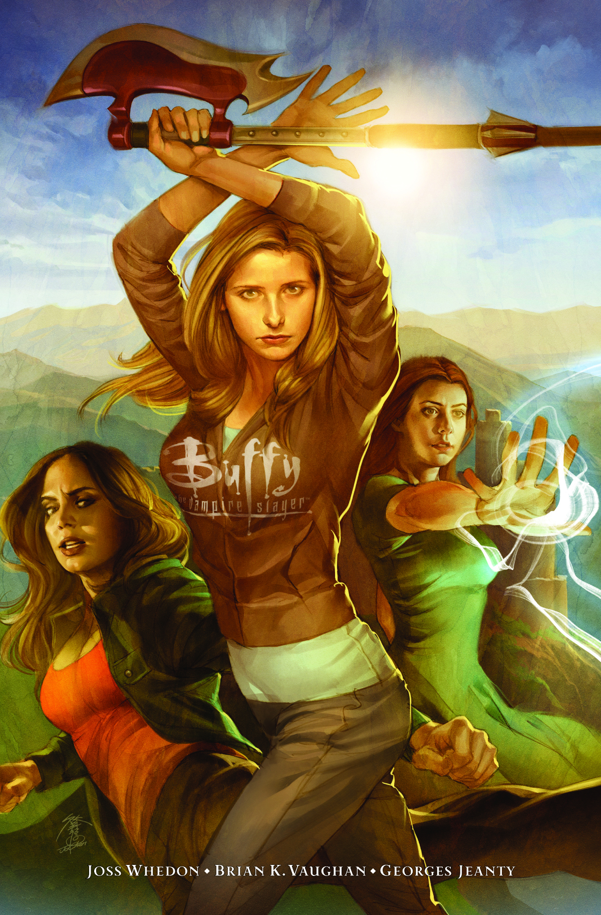 BTVS SEASON 8 LIBRARY HC VOL 01 LONG WAY HOME