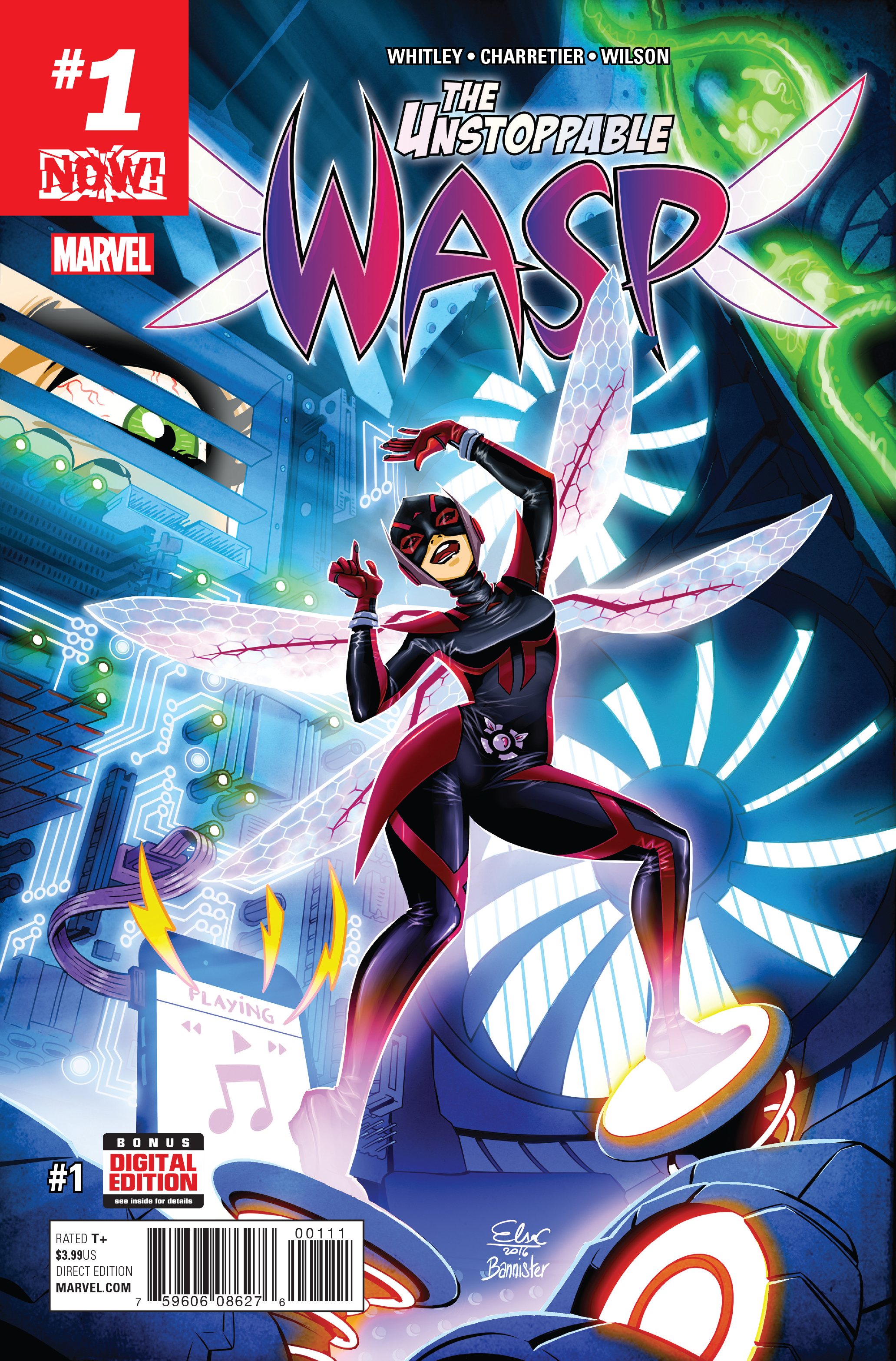 UNSTOPPABLE WASP #1 NOW