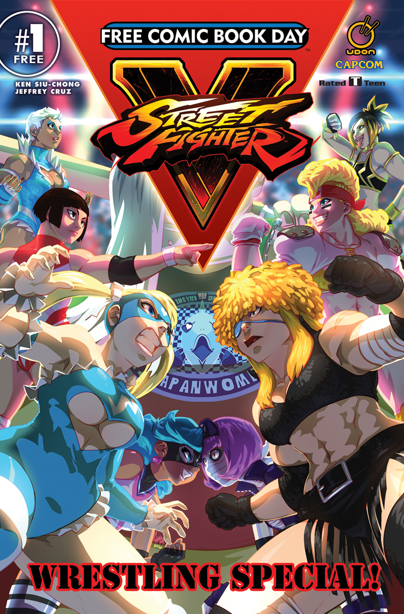 FCBD 2017 STREET FIGHTER V WRESTLING SPECIAL