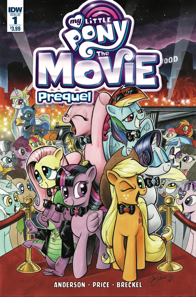 MY LITTLE PONY MOVIE PREQUEL #1
