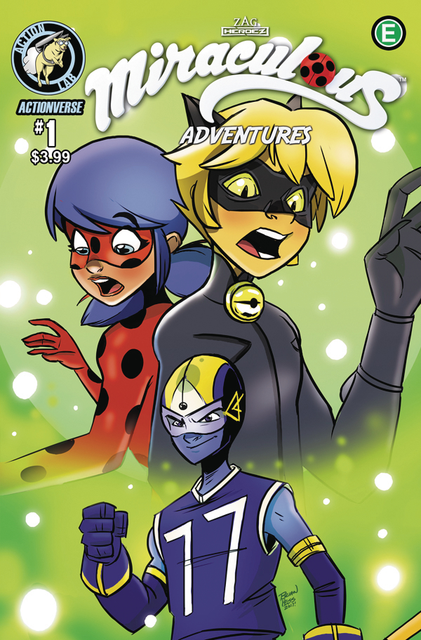 MAY170999   MIRACULOUS ADVENTURES LADYBUG CAT NOIR #1 CVR A HESS   Free  Comic Book Day