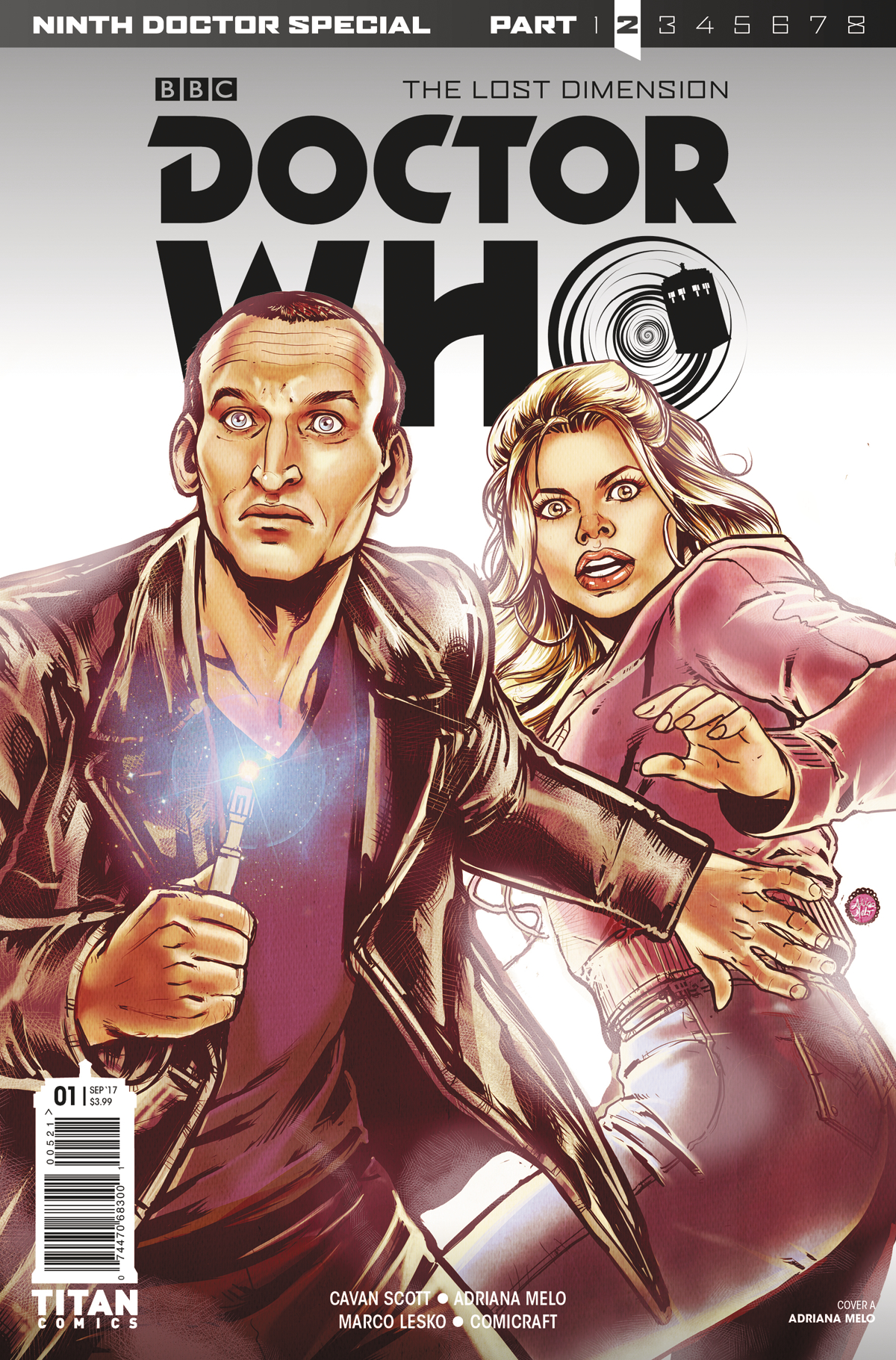 DOCTOR WHO 9TH DOCTOR YEAR TWO #1 CVR A MELO