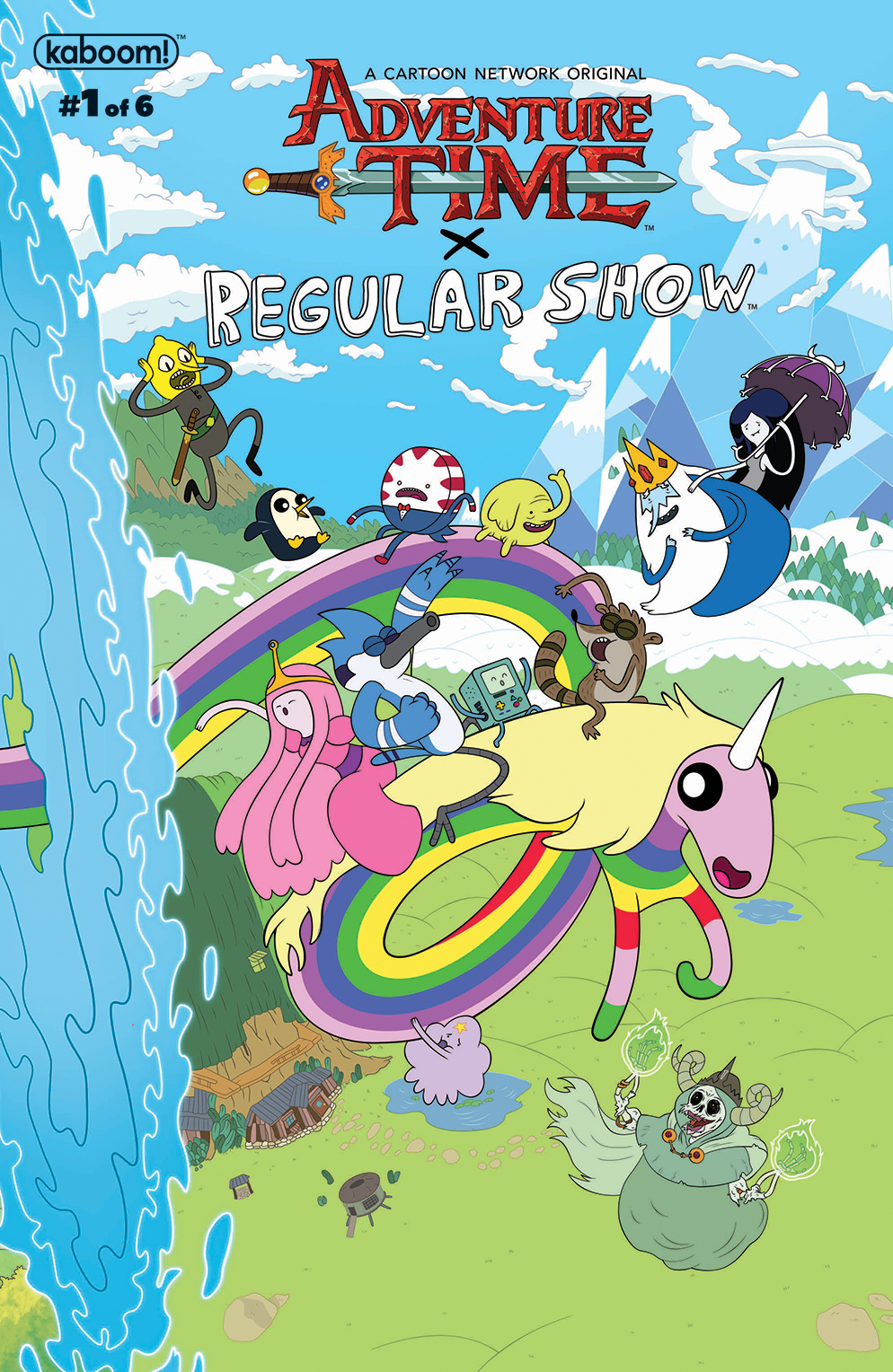 ADVENTURE TIME REGULAR SHOW #1 MAIN & MIX