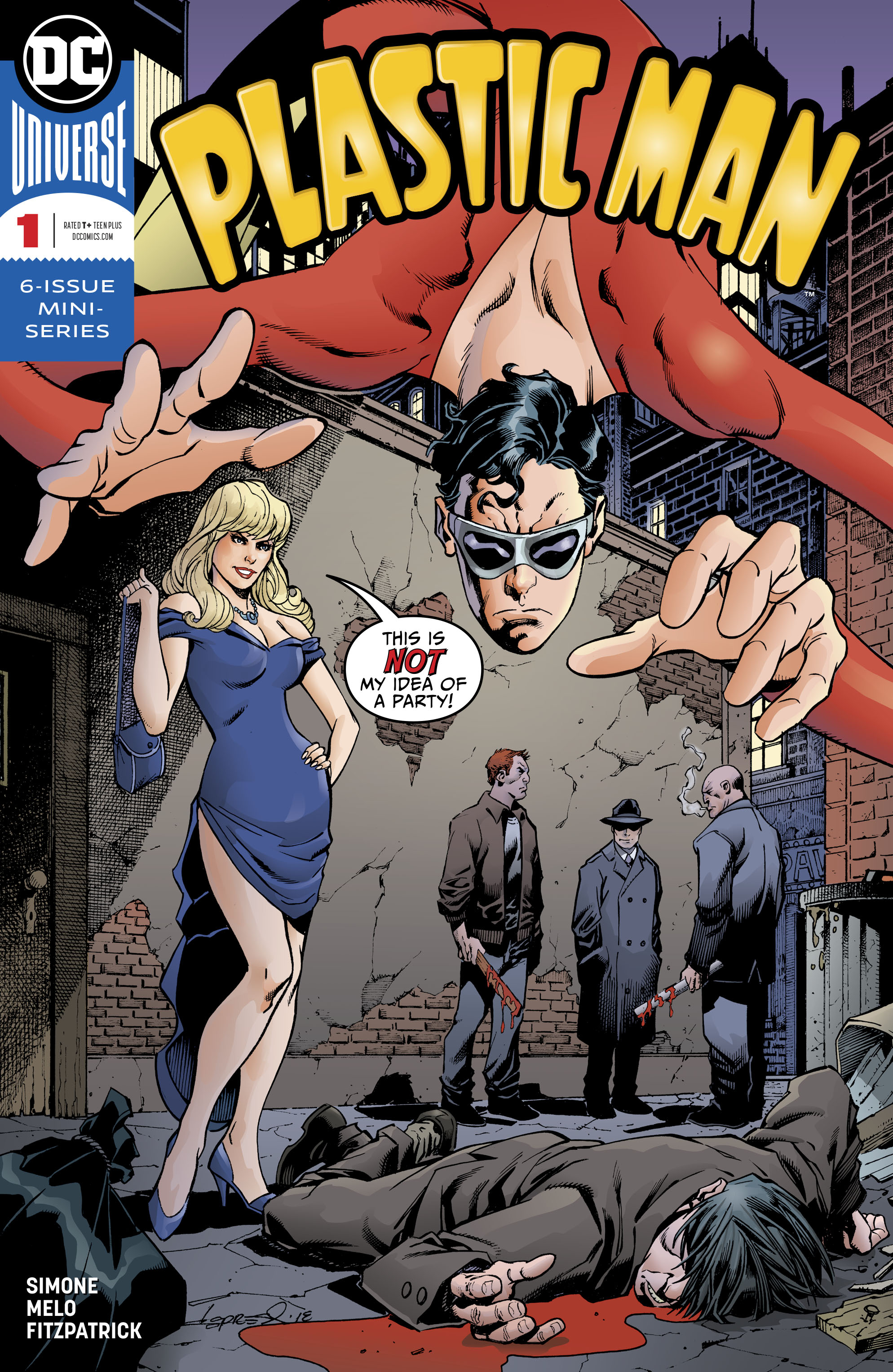 PLASTIC MAN #1 (OF 6)