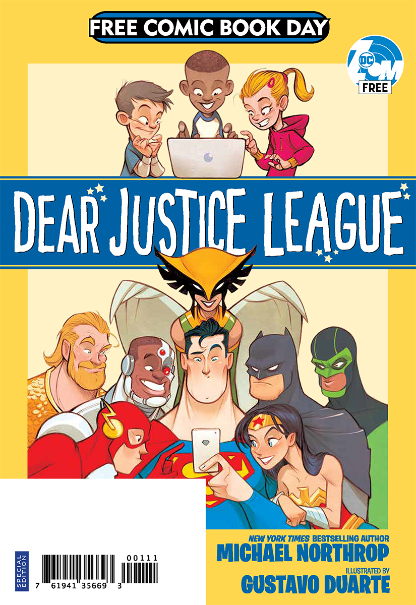 FCBD 2019 DEAR JUSTICE LEAGUE SPECIAL EDITION (Net)