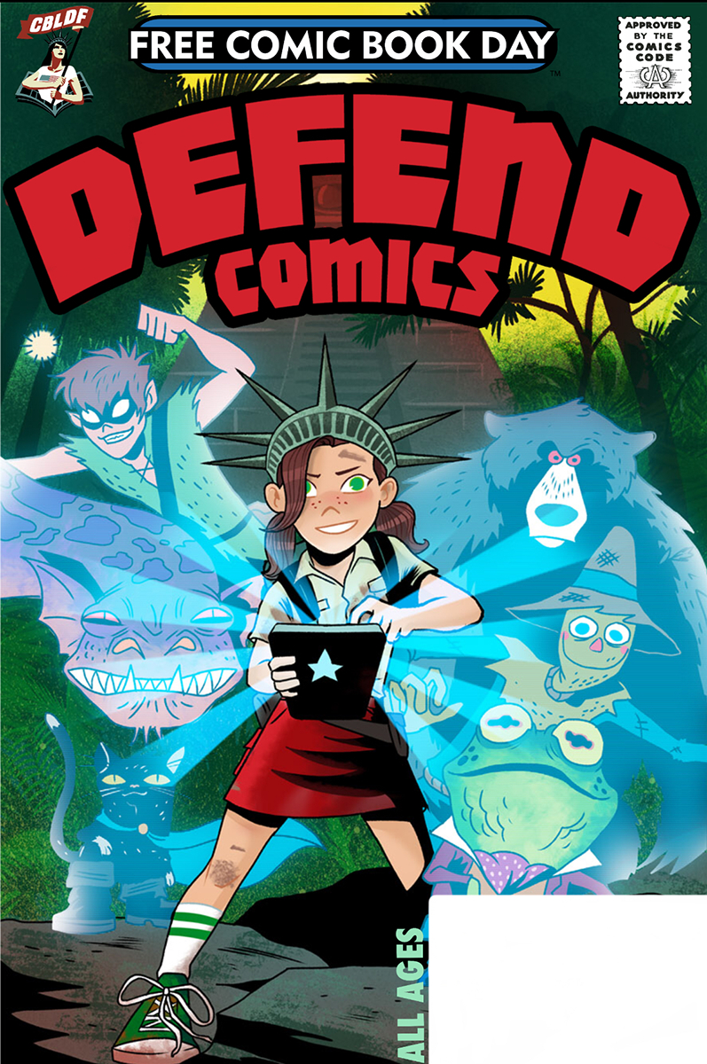 FCBD 2019 DEFEND COMICS