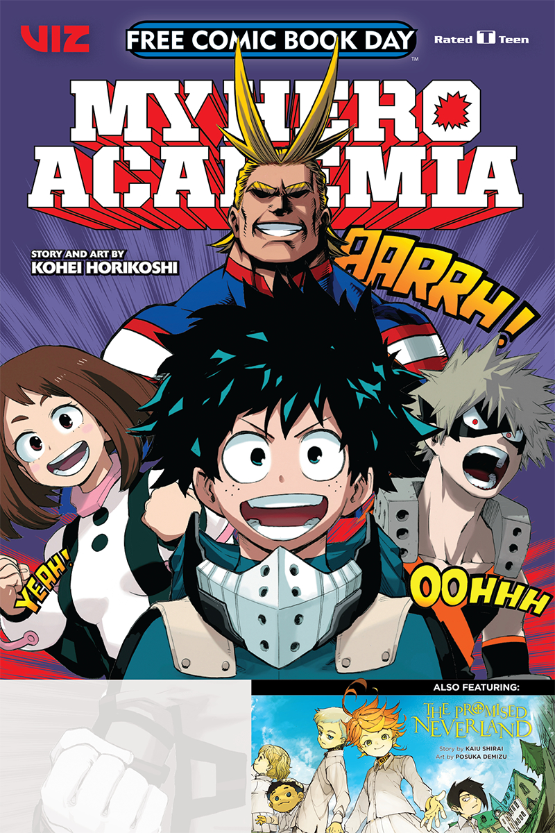 FCBD 2019 MY HERO ACADEMIA & PROMISED NEVERLAND
