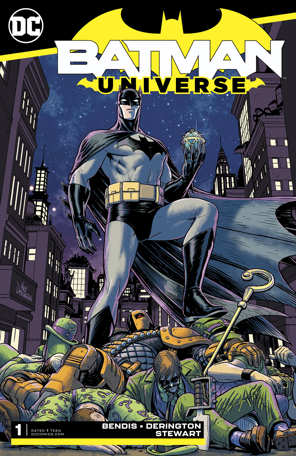 BATMAN UNIVERSE #1 (OF 6)
