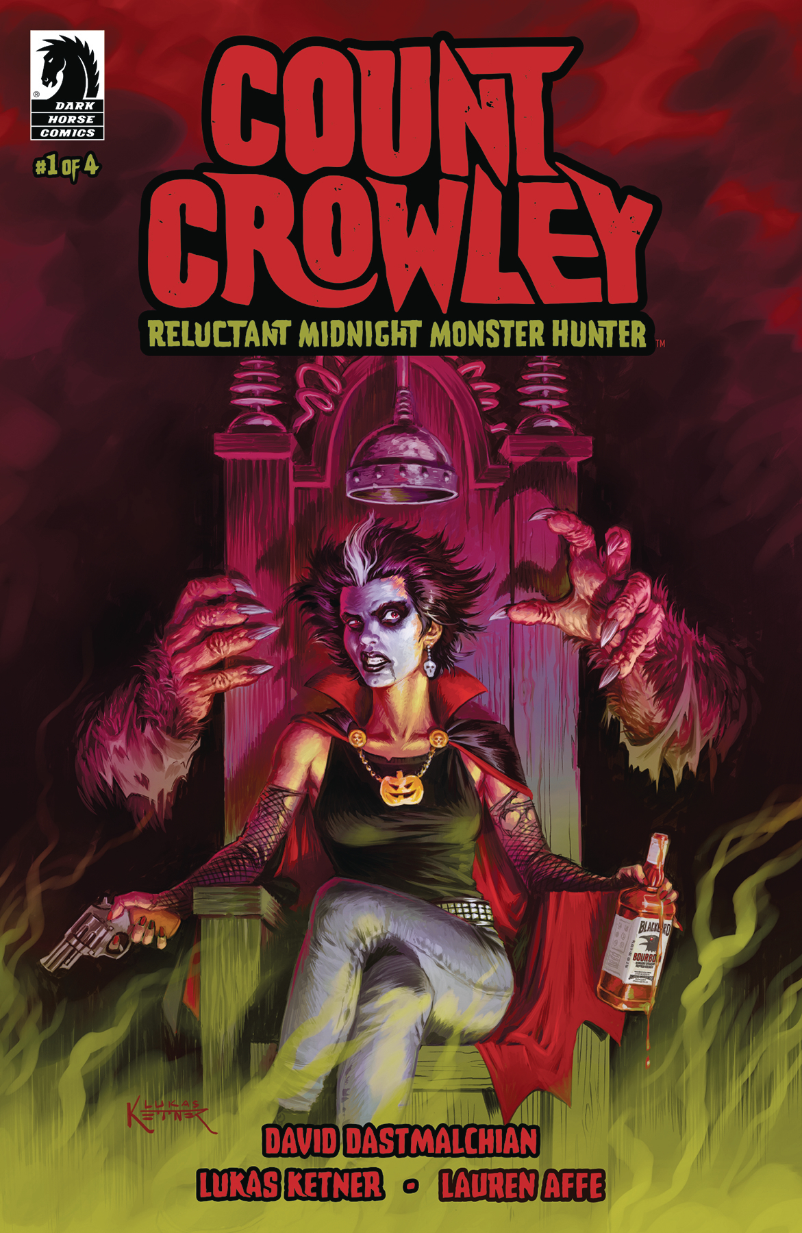 COUNT CROWLEY RELUCTANT MONSTER HUNTER #1 (OF 4)