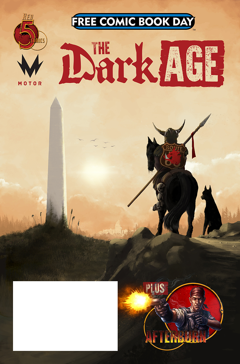 FCBD 2019 DARK AGE AFTERBURN ONE SHOT