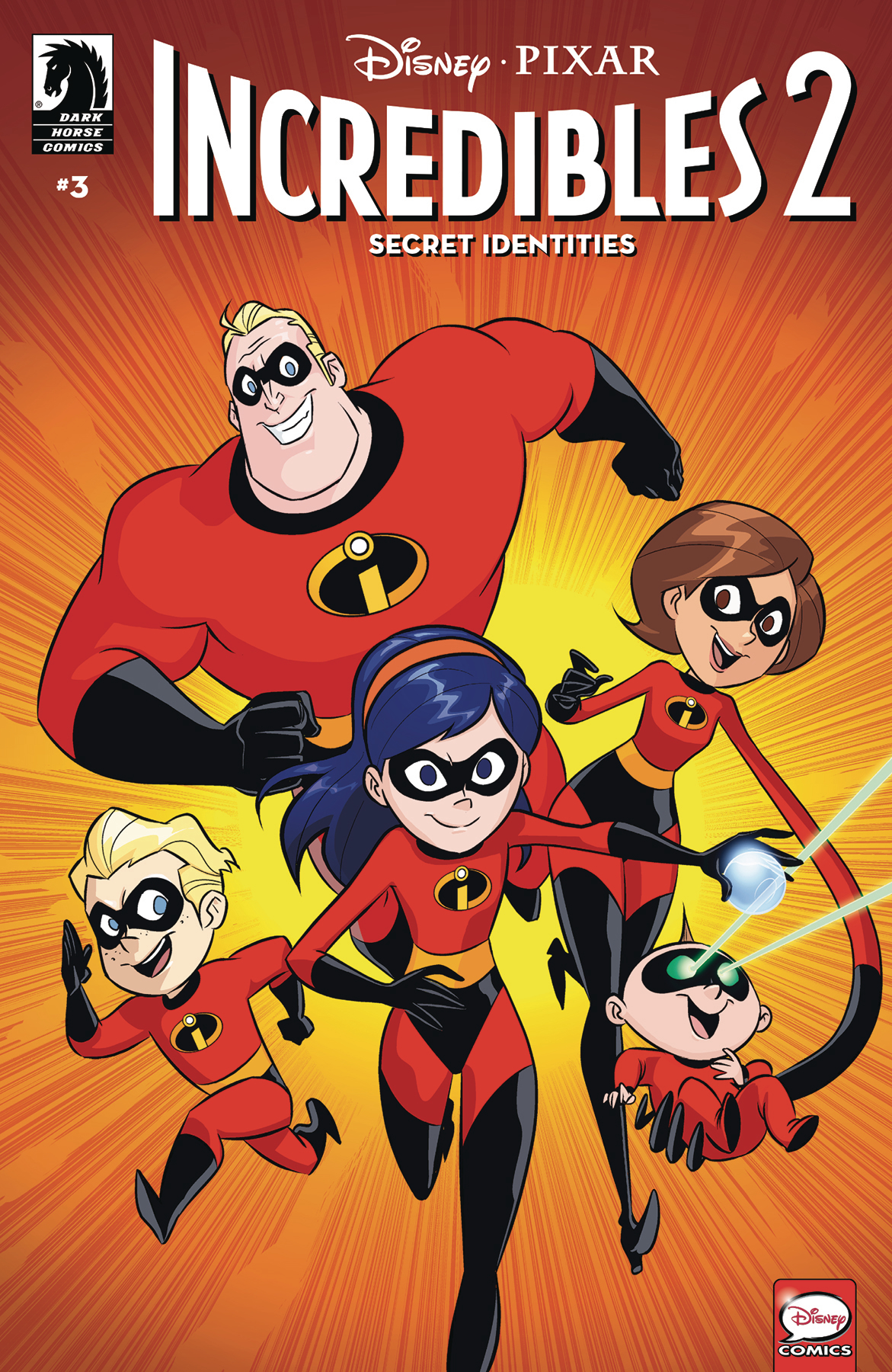DISNEY INCREDIBLES 2 SECRET IDENTITIES #3 (OF 3) CVR A CLAUD
