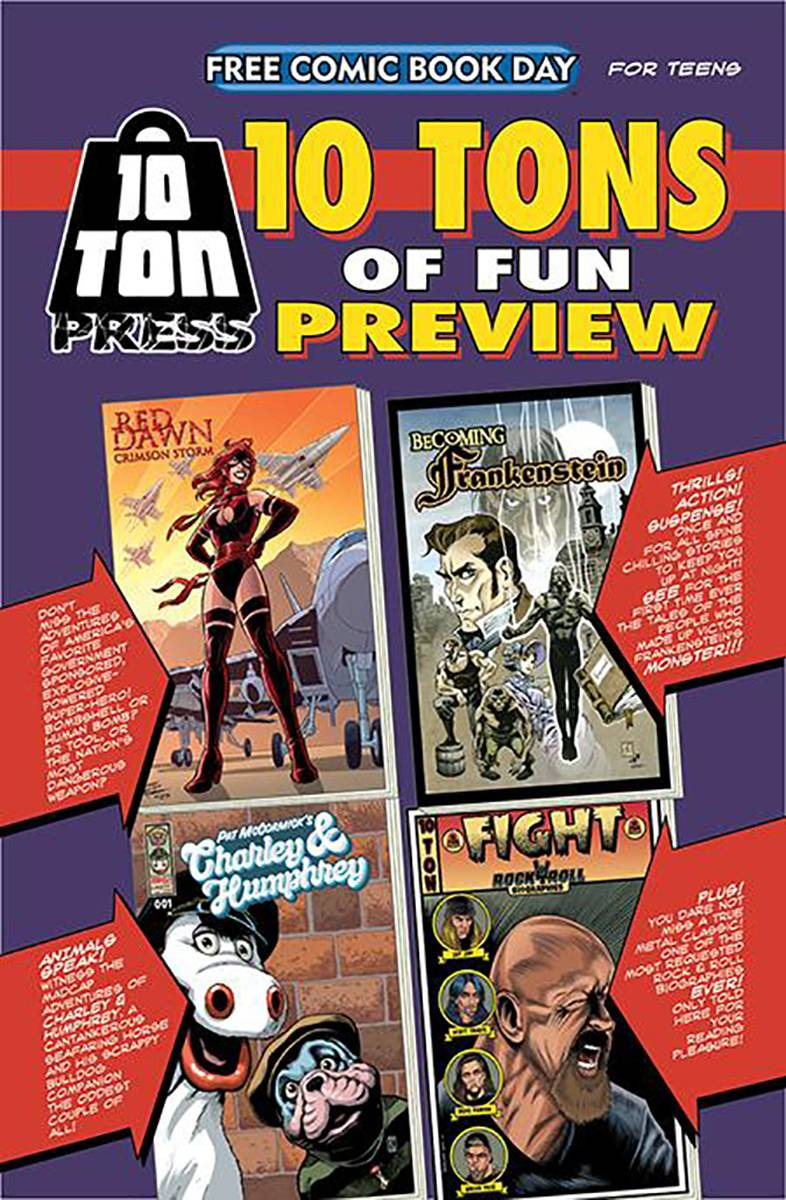 FCBD 2021 10 TON OF FUN SAMPLER