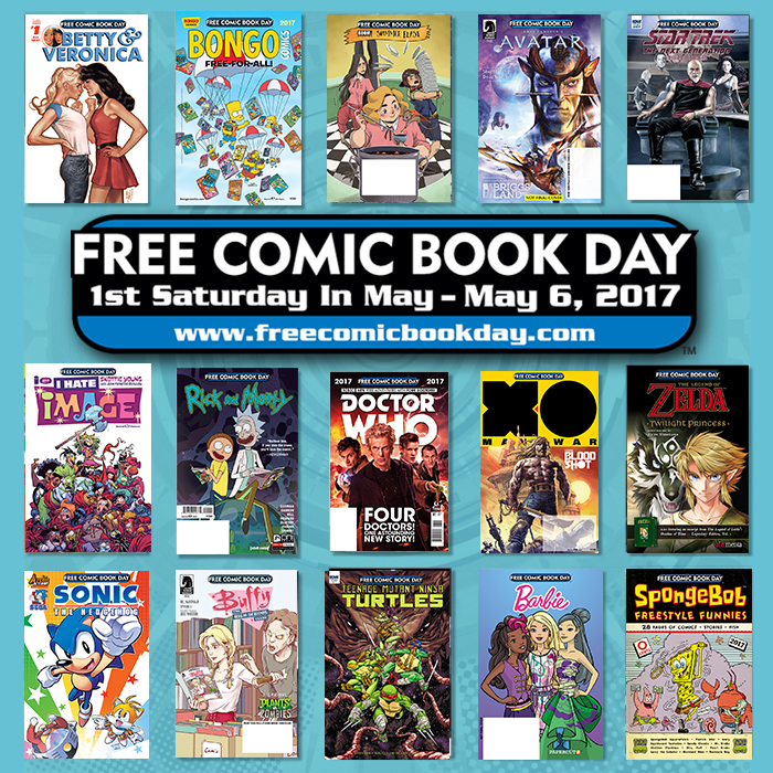Free Comic Book Day España: FCBD 2017 Site Downloads