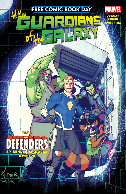 Free Comic Book Day Unleashes The Defenders & Guardians of