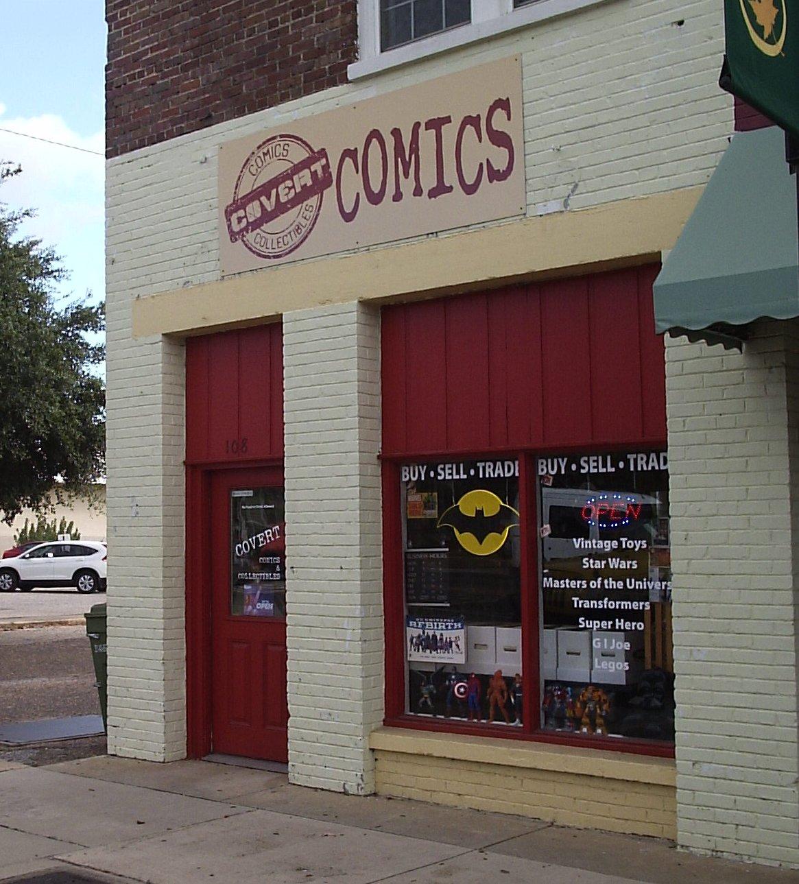 Free Comic Book Day Uk Store Locator: Comic Shop Spotlight: Covert Comics & Collectibles