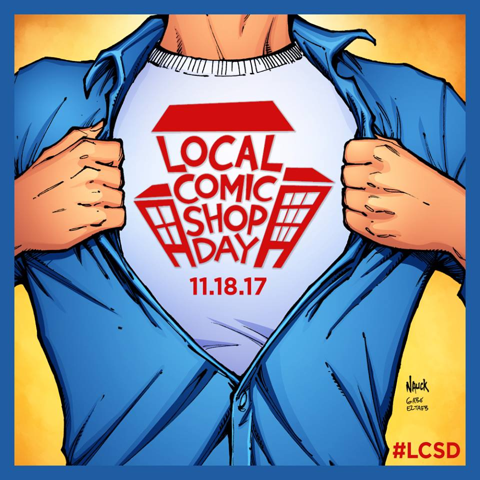 Valiant Free Comic Book Day: Celebrate Local Comic Shop Day Saturday, November 18th