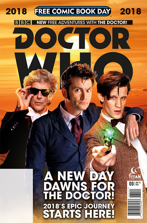 doctor who 0 free comic book day cover revealed free comic book day