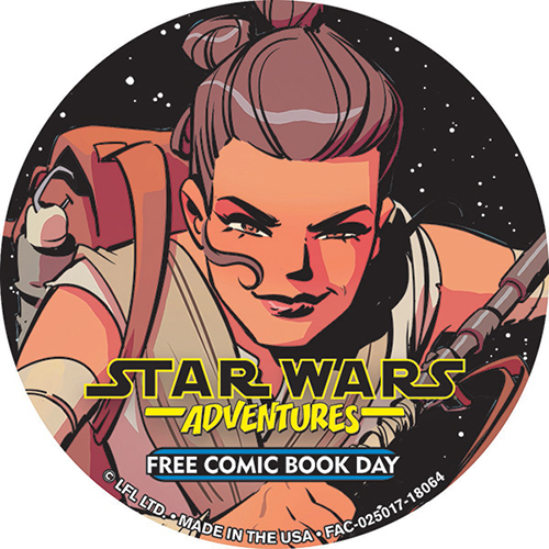Free Comic Book Day España: The Force Is Strong With This Year's FCBD Button!