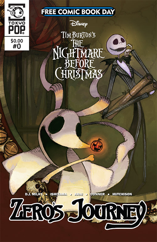 Free Comic Book Day, FCBD, The Nightmare Before Christmas: Zero's Journey, TokyoPop