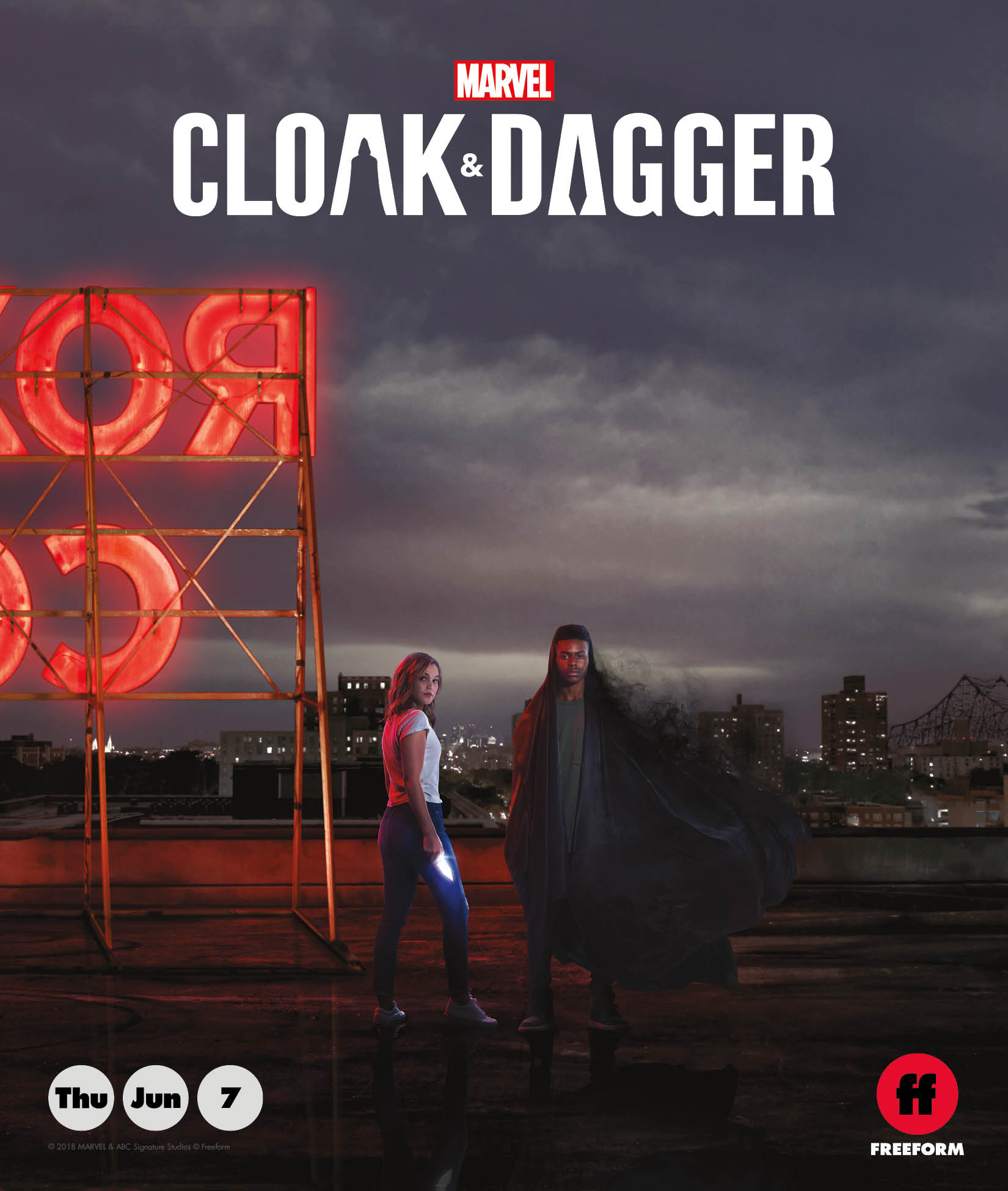 Free Comic Book Day 2018 List: Cloak & Dagger Stars Promote Free Comic Book Day