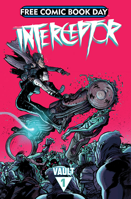 Donny Cates & Dylan Burnett's INTERCEPTOR Comes to Vault Comics