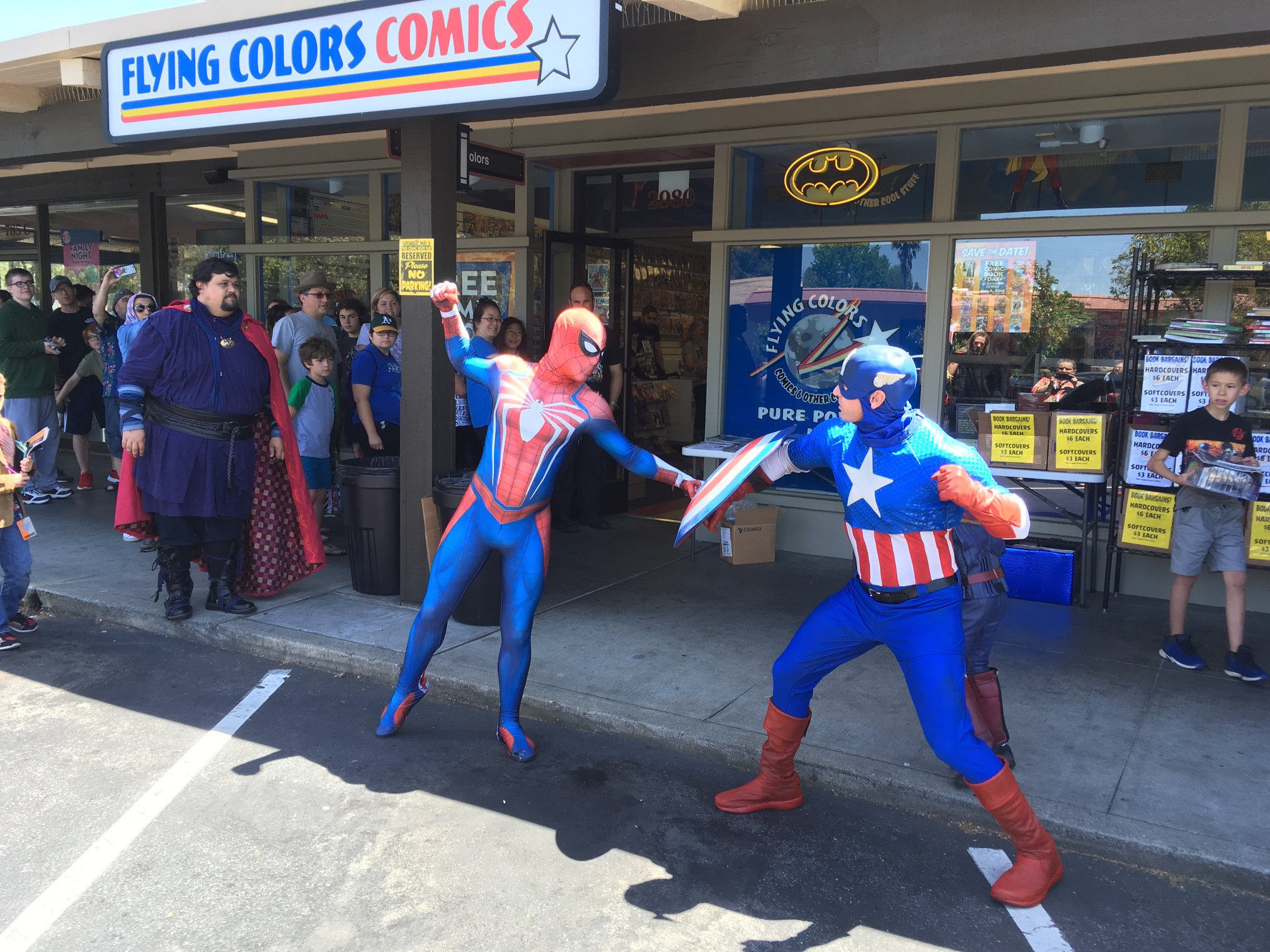 Free Comic Book Day, FCBD, event, photos